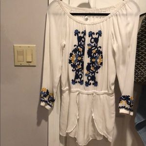 Lovers and friends long sleeve romper